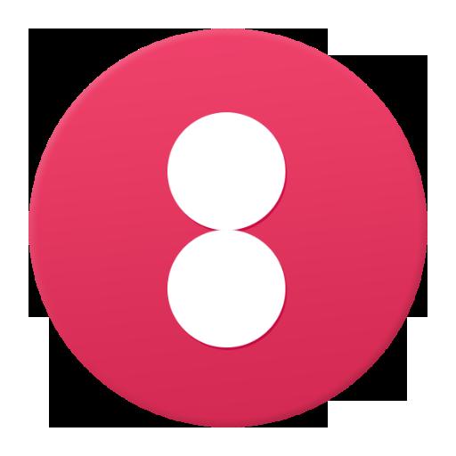 两个点 休閒 App LOGO-硬是要APP