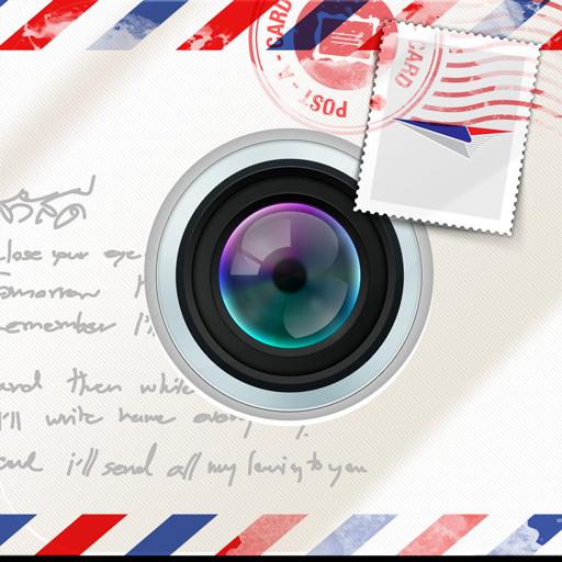 iPost-a-card LOGO-APP點子