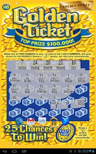 Gold Ticket Lotto Scratch Off- screenshot thumbnail