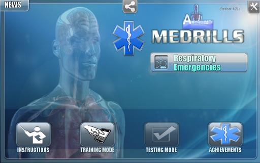 Medrills Respiratory Emergency