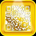 Bar code QR code icon