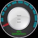 Light GPS Speedometer: kph/mph icon