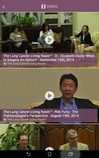 Lung Cancer Foundation- screenshot thumbnail