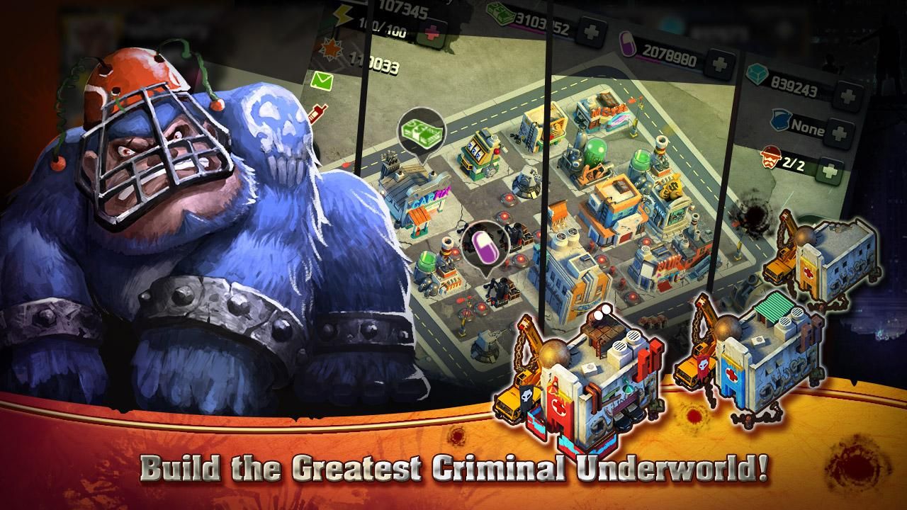 Clash of Mafias- screenshot