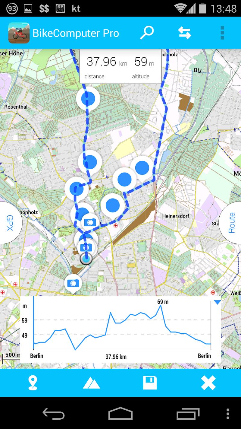 BikeComputer Pro Screenshot 5