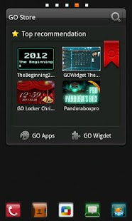 C Box Theme GO Launcher EX - screenshot thumbnail