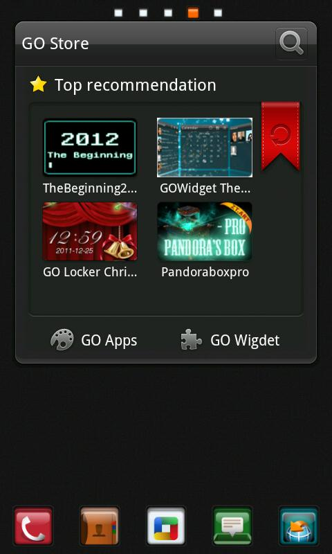 C Box Theme GO Launcher EX - screenshot