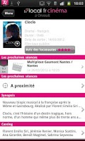 Screenshot of Cinéma Local