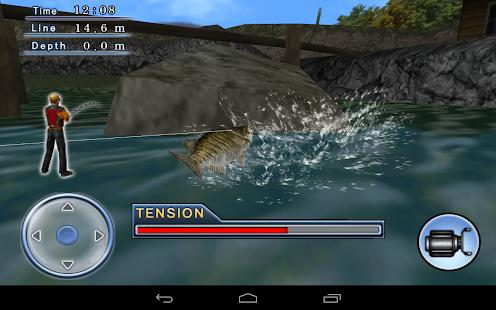 Bass Fishing 3D Free - screenshot thumbnail