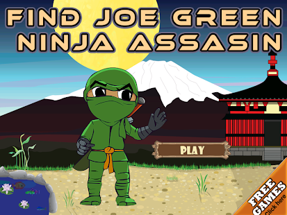 Find Joe Green Ninja Assasin
