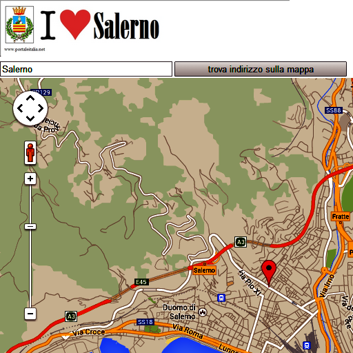 Salerno map