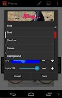 Screenshot of Phonto - Text on Photos