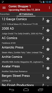 Comic Shopper 1 - náhled