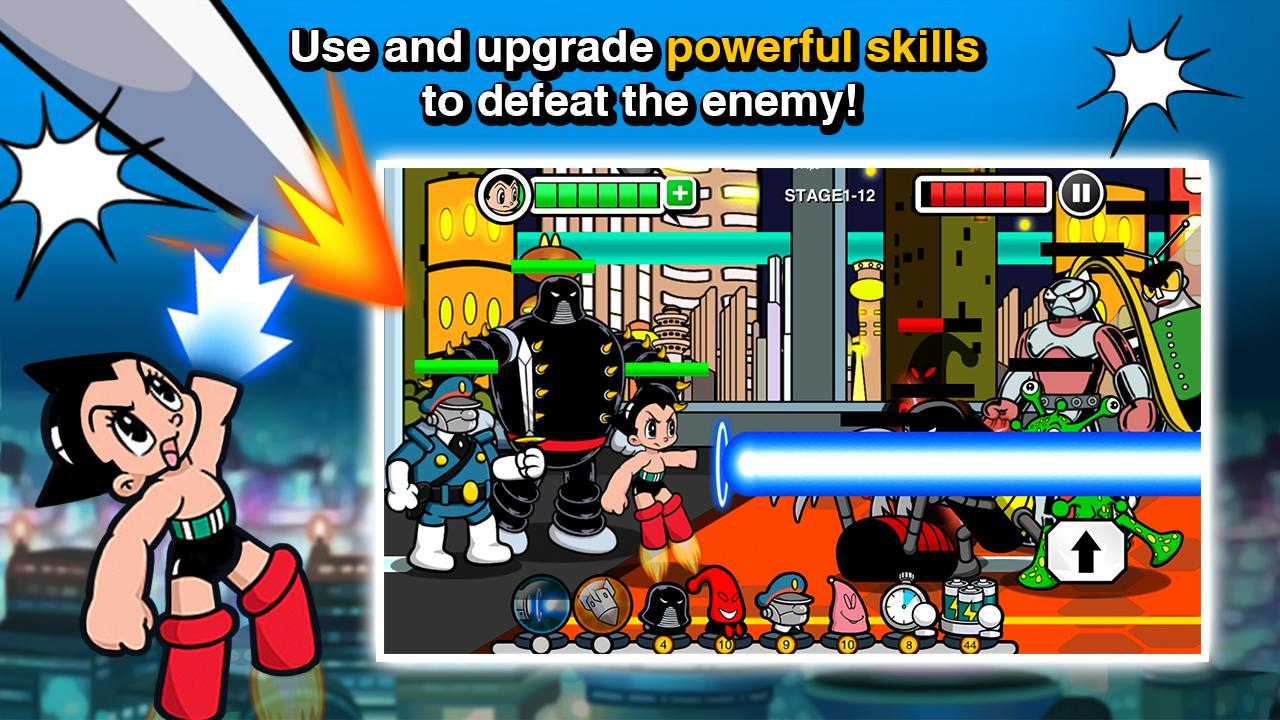 Astro Boy Siege: Alien Attack- screenshot