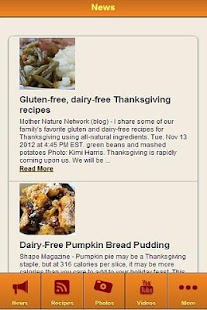 Dairy Free Recipes - screenshot thumbnail