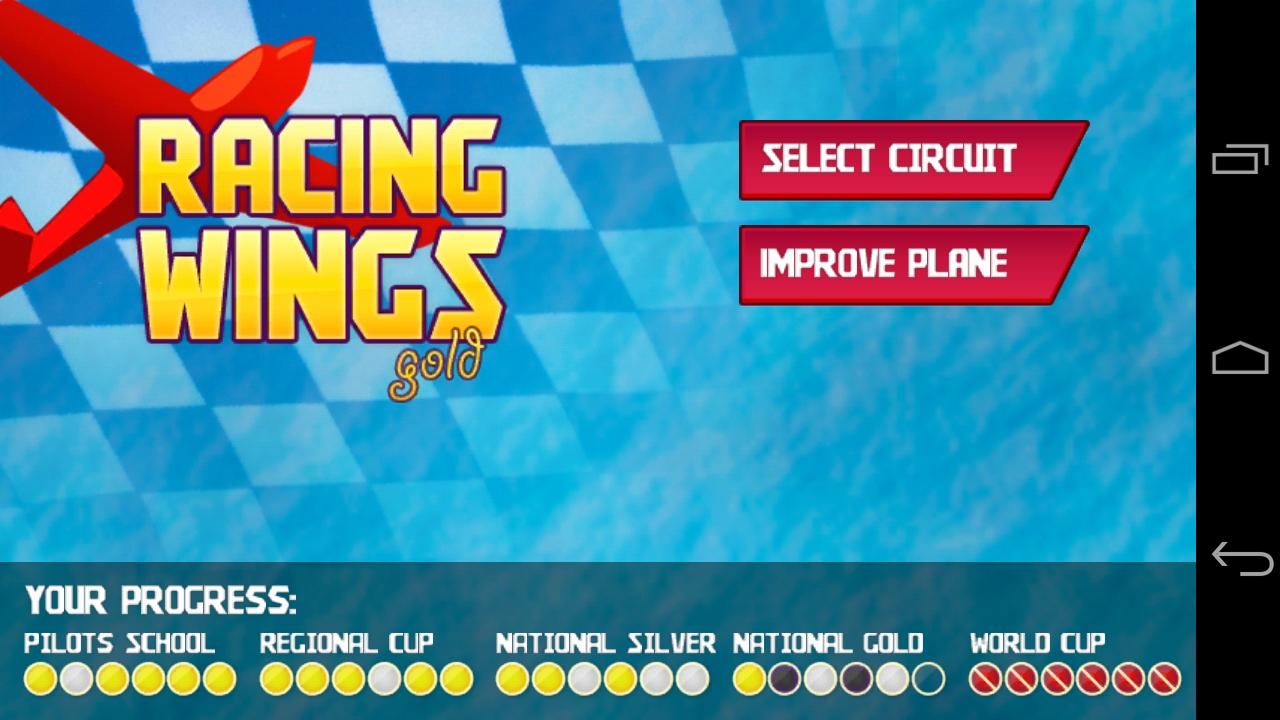 Racing Wings- screenshot