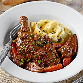 Slow-Cooker Coq au Vin