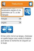 Screenshot of French Multilingual Dictionary