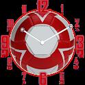 Analog Clock Football Fans icon