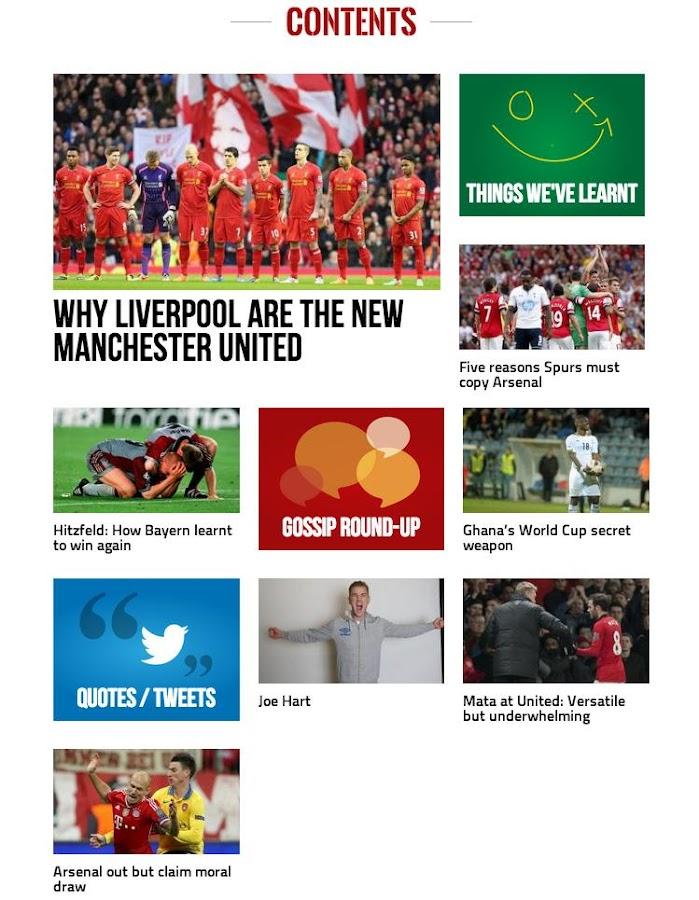 FourFourTwo Football Weekly - screenshot