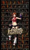 Screenshot of Legend Of Fighters