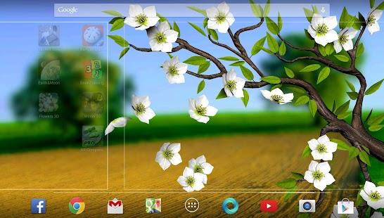 玩個人化App|Spring Flowers 3D Parallax Pro免費|APP試玩
