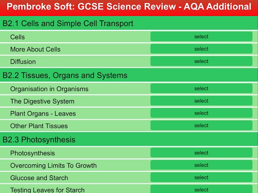 AQA Additional Science Review