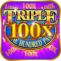 Triple 100x Pay Slot Machine icon