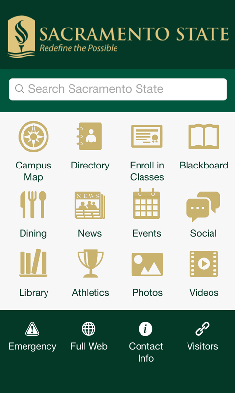 Sac State- screenshot