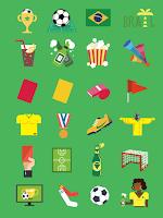 Screenshot of WorldCup2014-Photo Grid Plugin