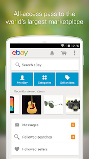 eBay - screenshot thumbnail