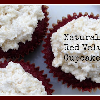 Naturally Red Velvet Cupcakes (Grain/Nut/Dairy Free)