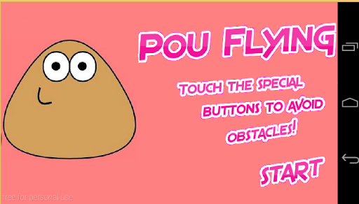 Pou Flying Night