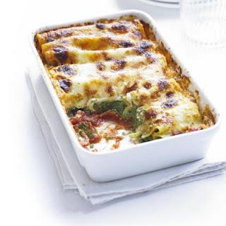 Spinach & Ricotta Cannelloni.