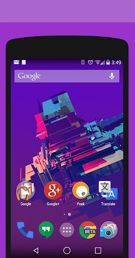 Objects Purple PA CM11 Theme