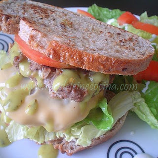Hamburgers with Jalapeno