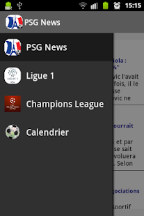 PSG Foot News - screenshot thumbnail
