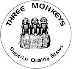 Logo of Three Monkeys Brown Barrel Ale