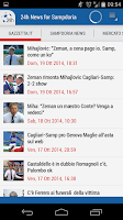 Screenshot of Sampdoria 24h