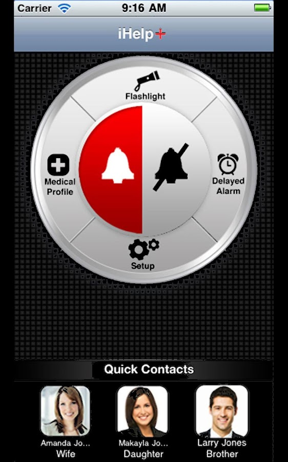 iHelp Plus: Personal Alarm- screenshot