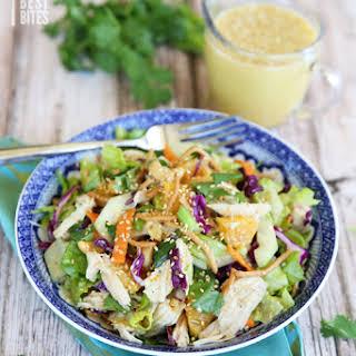 Orange Sesame Asian Chicken Salad.