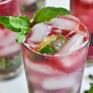 Triple Berry Mojitos.
