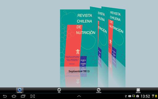 Revista Chilena de Nutrición