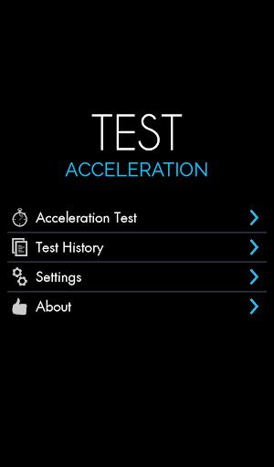 Car Acceleration Test