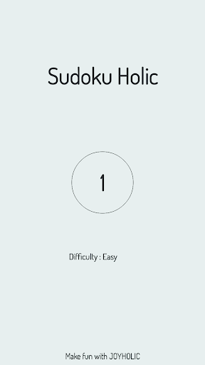 Sudoku Holic