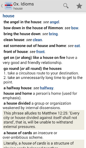 Oxford Dictionary of Idioms TR