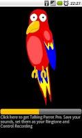 Screenshot of Talking Parrot