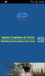 Agence Congolaise de Presse- screenshot thumbnail