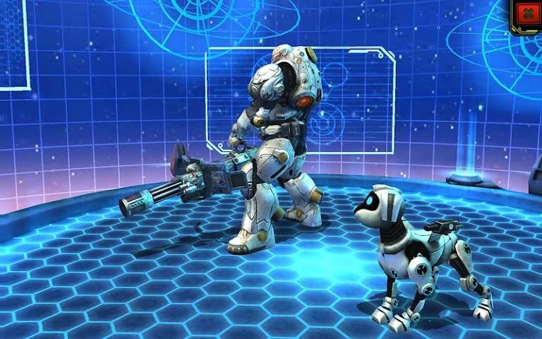 android Evolution: Battle for Utopia Screenshot 6