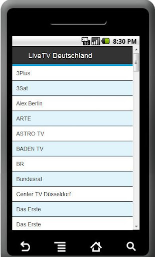LiveTV Streams - 2000 Sender